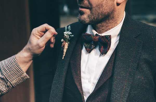 Vintage Anzug Herren