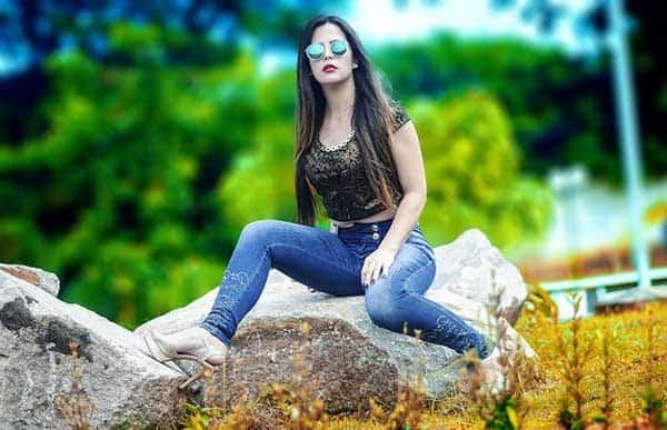 Skinny Jeans - hauteng für eine schöne Silhouette