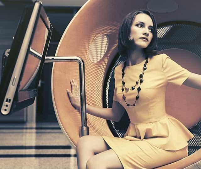 Bluse mit Schösschen © depositphotos.com