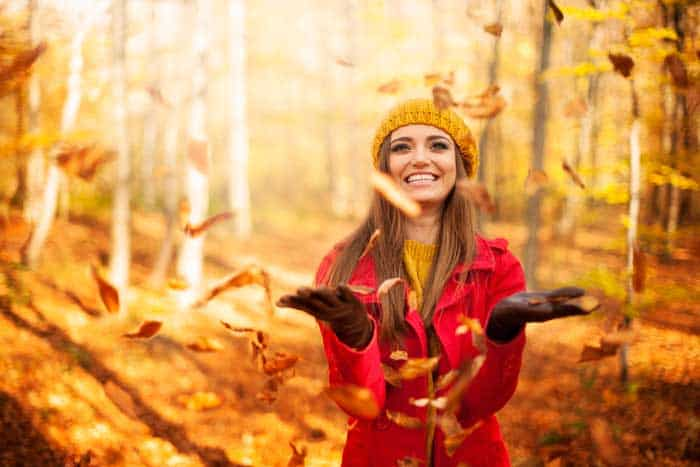 Herbstmode - das Spiel mit den Möglichkeiten © depositphotos.com