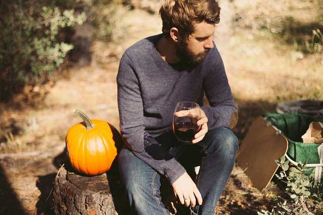 Herbst-Outfit mit Pullover