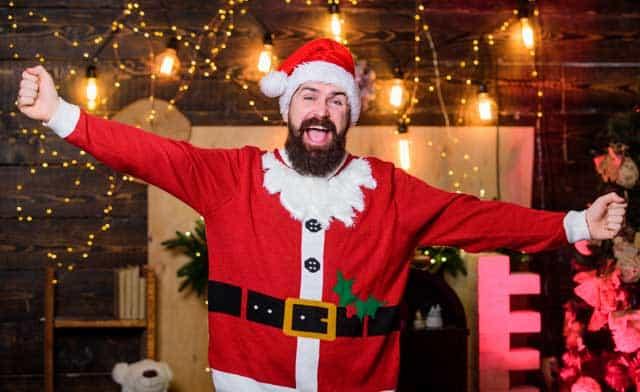 Weihnachtsanzug © depositphotos.com