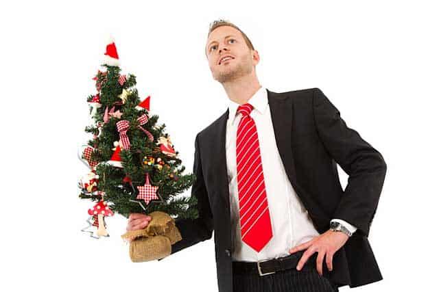 Weihnachten mit der richtigen Krawatte © depositphotos.com
