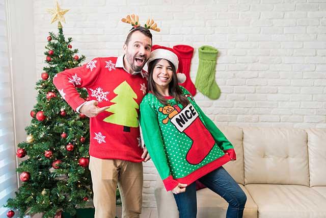Ugly Weihnachtspullover © depositphotos.com