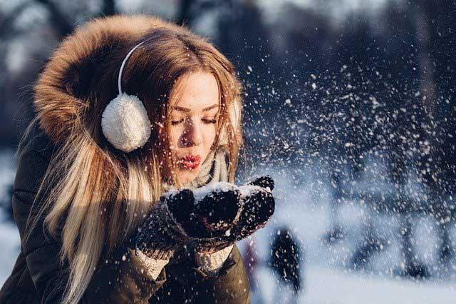 Winterjacke mit Fell für Damen